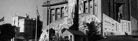 Una alegoría justicialista en el Museo (1954)
