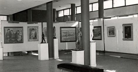 """Exposición """"Los artistas becados por la provincia de Córdoba"""" (1958)"""