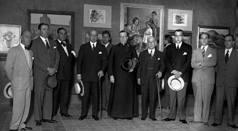 """Los salones de los años treinta en el Museo Provincial: """"Primer Salón de Bellas Artes de Córdoba"""" (1933)"""