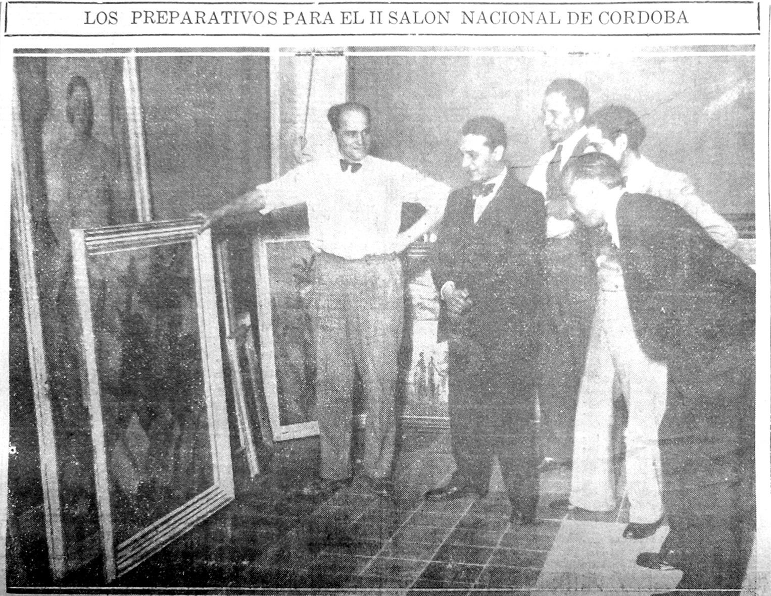 Miembros del jurado, en El País, 06/11/1934